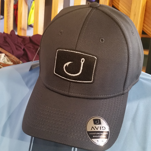 995dcf1f Want a hat that delivers both in style and performance? Check out the Avid  Iconic Fitted Fishing Hat! Breathable, moisture and fade resistant, and  standard ...